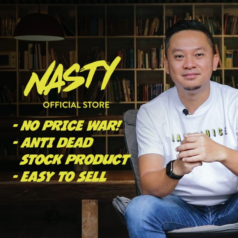 Cara Join NASTY OFFICIAL STORE
